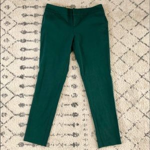 Forest green pant